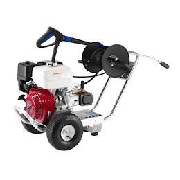 Benzine of diesel aangedreven